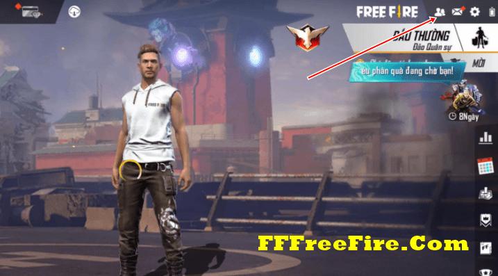 cách mời bạn chơi chung trong free fire