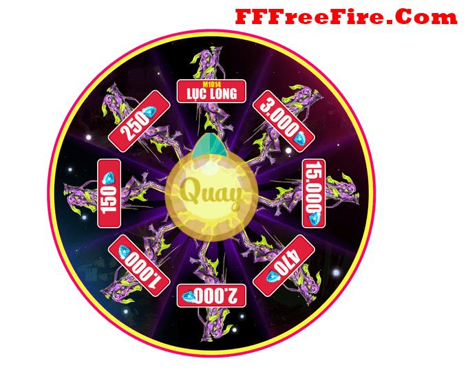 Vòng quay free fire miễn phí