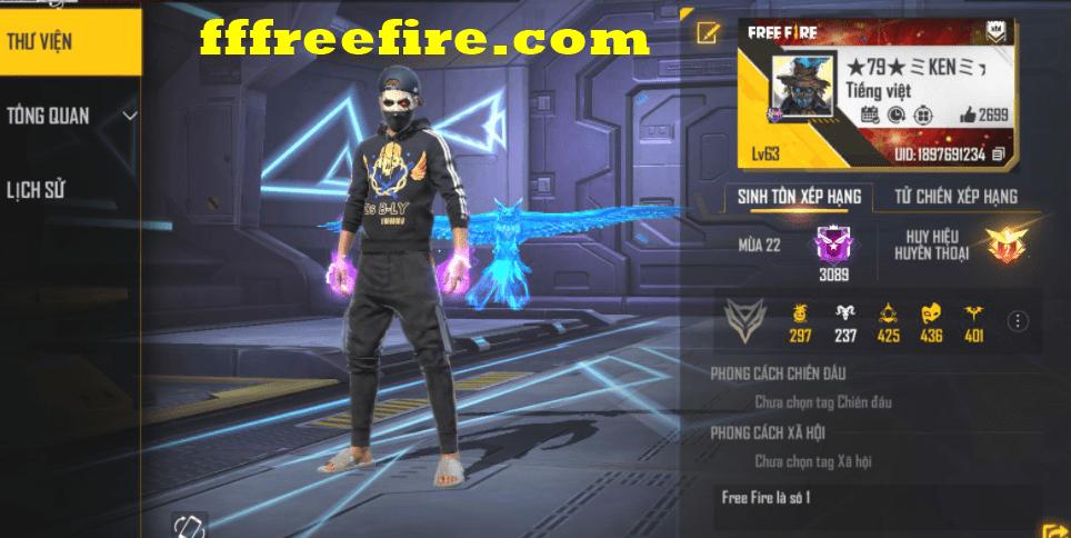 Cho nick free fire không đổi được mật khẩu vip