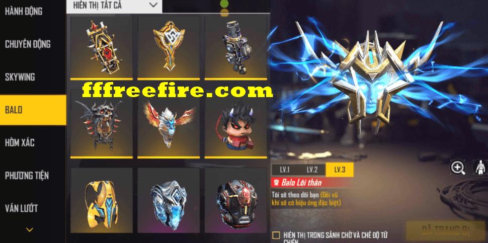 Cho nick free fire đổi được mật khẩu