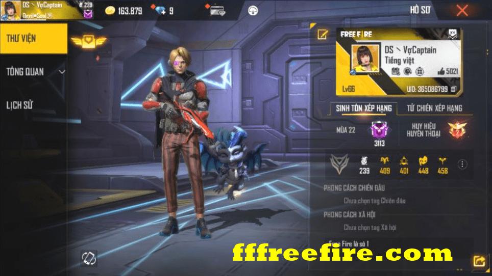 Cho nick free fire không đổi được mật khẩu